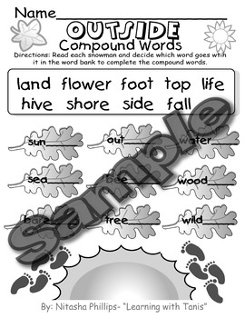 Compound Worksheet Packet