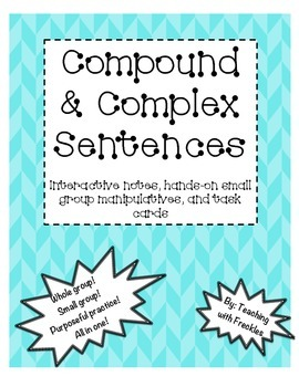Compound and Complex Sentence Mega Pack