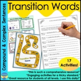 Combining Sentences | Activities and Worksheets | Conjunct
