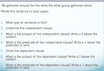 Compound and Complex Sentences; Dependent and Independent Clauses