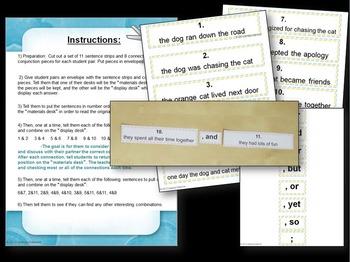 Compound and Complex Sentences Hands-On BUNDLE