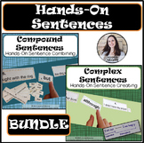Compound and Complex Sentences Hands-On BUNDLE