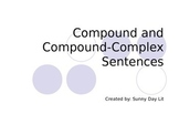Compound and Compound-Complex Powerpoint