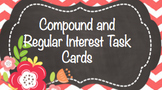 Compound and Regular Interest cards