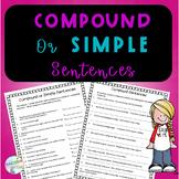No-Prep Compound and Simple Sentences