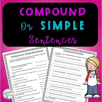 Compound and Simple Sentences
