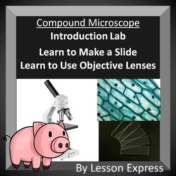 Compound Microscope Introduction Lab -- Light Microscope Introduction