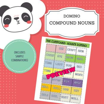 Compound noun's domino
