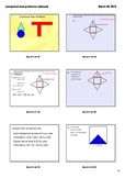 Compound or Complex Area Problems ( Smartboard) 11 of them