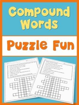 ESL Compound Words  word puzzles