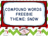 Compound words Snow