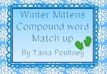 Compound words Winter Mitten match up