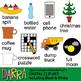 Compound words clip art / Open compound words clipart bundle