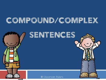 Compound/Complex Sentences Presentation