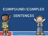 Compound/Complex Sentences Presentation