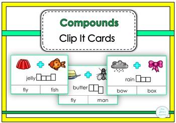 Compounds Clip It Cards