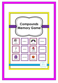 Compounds Memory Game