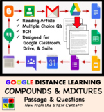 Compounds & Mixtures in Chemistry Google Doc Article - Distance Learning