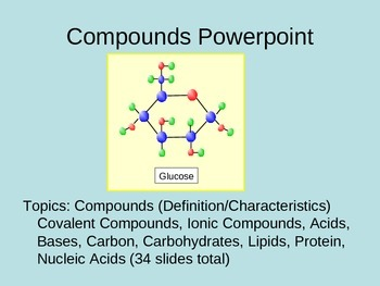 Compounds PowerPoint (Bundled)