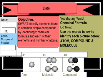 Compounds (Powerpoint- see worksheet as well)