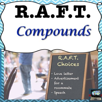 Compounds RAFT menu choice