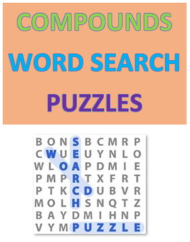 Compounds Word Search