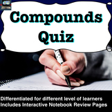 Compounds and Chemical Bonding Quiz