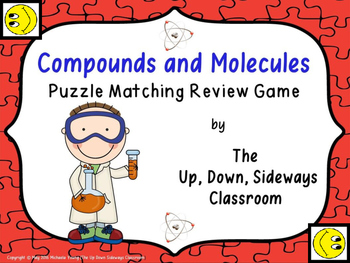 Compounds and Molecules Puzzle Matching Review Game