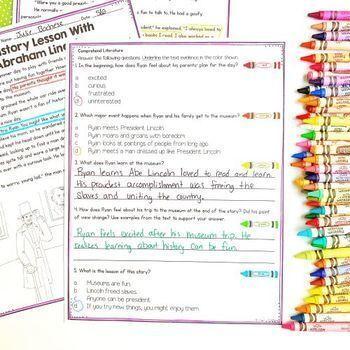 Comprehend Literature- 2nd & 3rd Grade RL.2.10 & RL.3.10