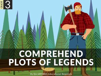 Comprehend plots of legends