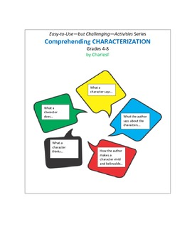 Comprehending CHARACTERIZATION
