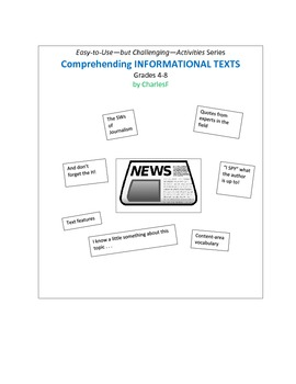Comprehending INFORMATIONAL TEXTS