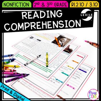 Comprehending Informational/ Nonfiction Text- RI.2.10 & RI.3.10