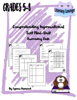 Comprehending Informational Text Mini-Unit