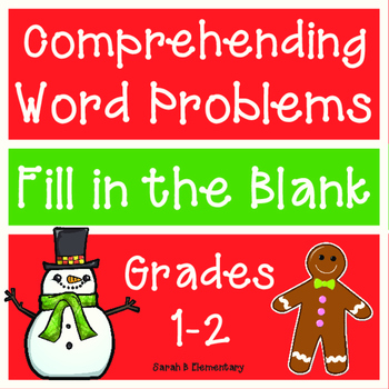 Comprehending Word Problems (Winter/Christmas Themed)
