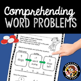 1st Grade: Comprehending Word Problems - Set 1