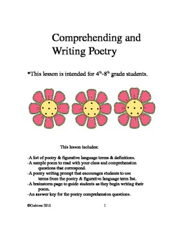 Comprehending & Writing Poetry