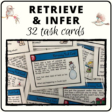 Retrieving and inferencing comprehension task cards