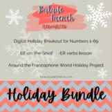 French Activities   Christmas + holiday BUNDLE