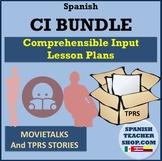 Comprehensible Input CI Spanish BUNDLE