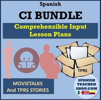 Comprehensible Input CI Spanish BUNDLE