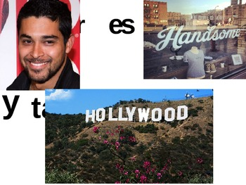 Comprehensible Input - TPRS - Animated Story about Wilmer Valderrama Spanish 1
