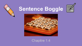 Comprehensible Input Writing Practice Activity - Boggle