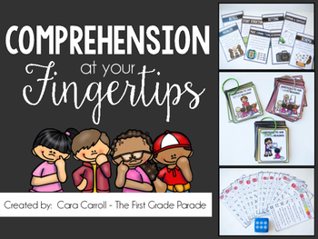 Comprehension Cards, Games, & Posters