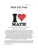 Comprehensive 4th Grade SOL Math Review!