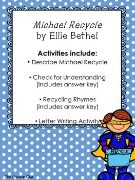 Comprehension Activities for Earth Day Books