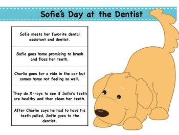 Comprehension Activities for Sofie's Day at the Dentist