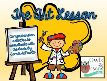 "Comprehension Activities for ""The Art Lesson"" by Tomie dePaola"