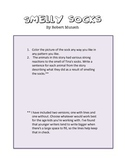 Comprehension Activity for Smelly Socks by Robert Munsch