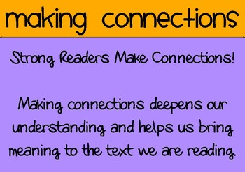 **Readers Workshop** Comprehension Anchor Charts x 9